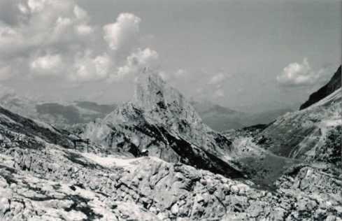 Itinerario Passo Falzarego - Cime Gallina - 2