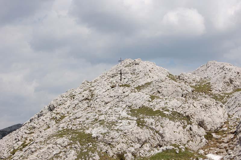 Le croci sul Monte Castello