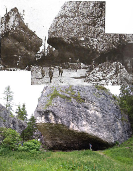 Castello di Buchenstein - 1916 e 2018